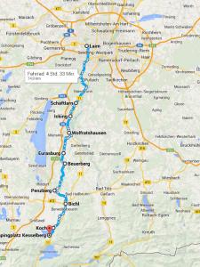 Rennrad Tour Kesselberg