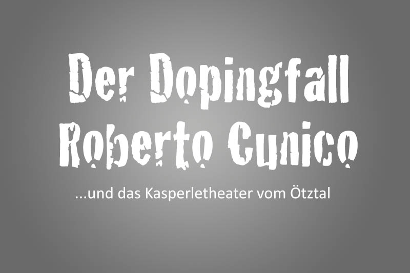 Dopingfall Roberto Cunico