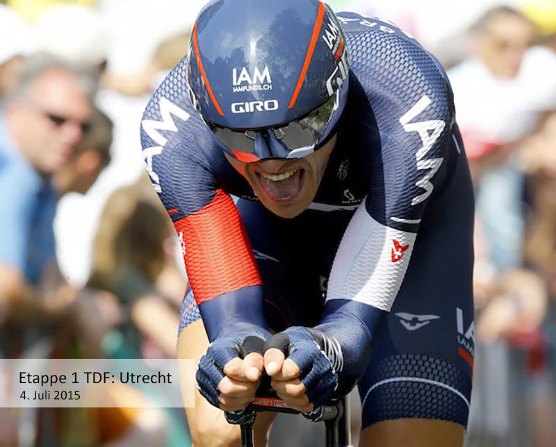 Tour de France 2015 - 102a Edizione - 1a tappa Utrecht - Utrecht 13.8 km - 04/07/2015 - Matthias Brandle (IAM Cycling) - foto Luca Bettini/BettiniPhoto©2015