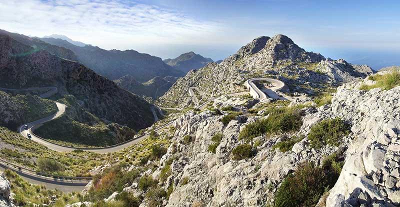 Mallorca Anstiege Rennradfahrer