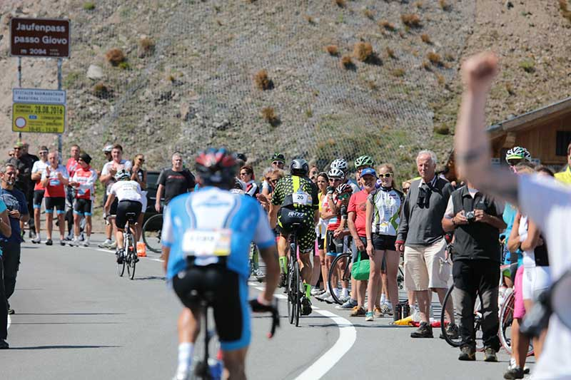 Anstiege Ötztaler Radmarathon