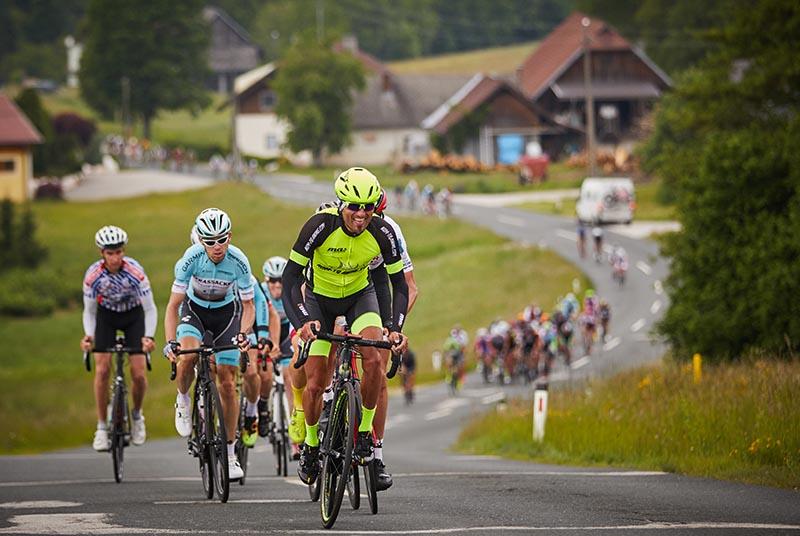 Führungsspitze Tour de Kärnten