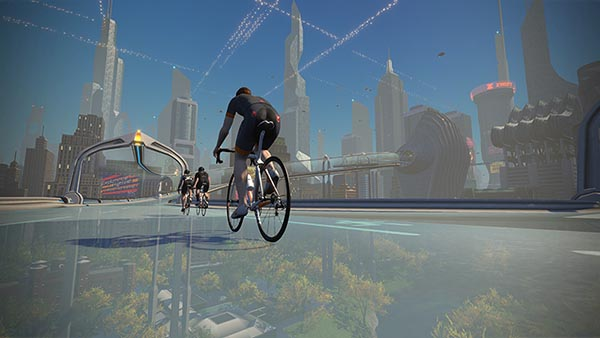 Zwift Strecke New York