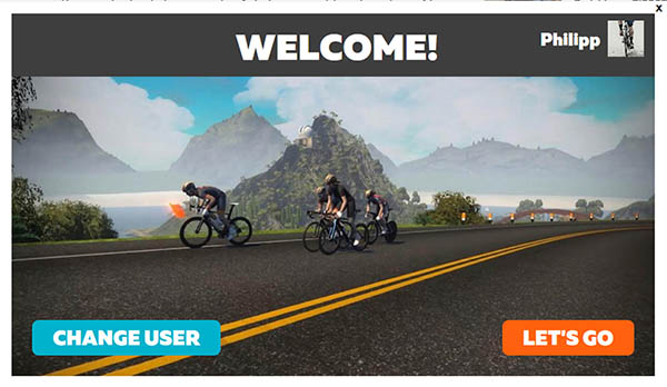 Zwift für Windows