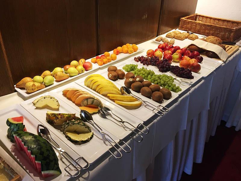Frühstück Hotel Central Nauders