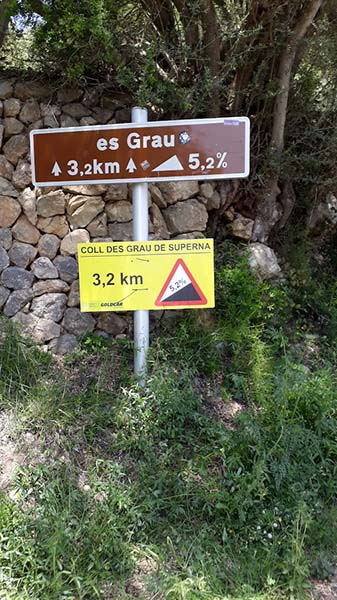 Es Grau Anstieg (Mallorca 312)
