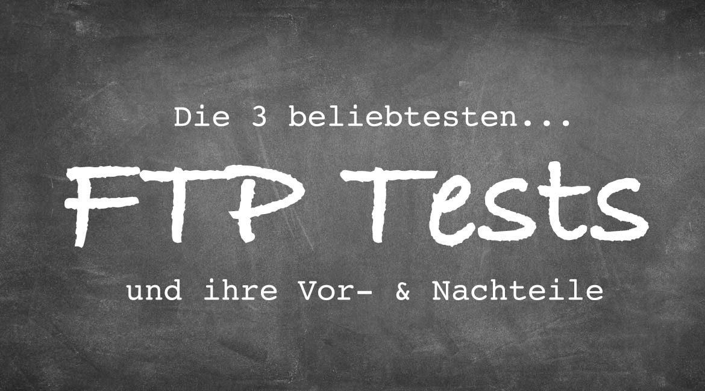 FTP Tests im Vergleich