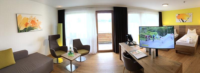 Zimmer im Das Sieben Hotel