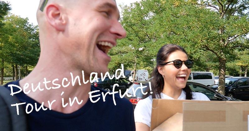 Deutschland Tour Erfurt