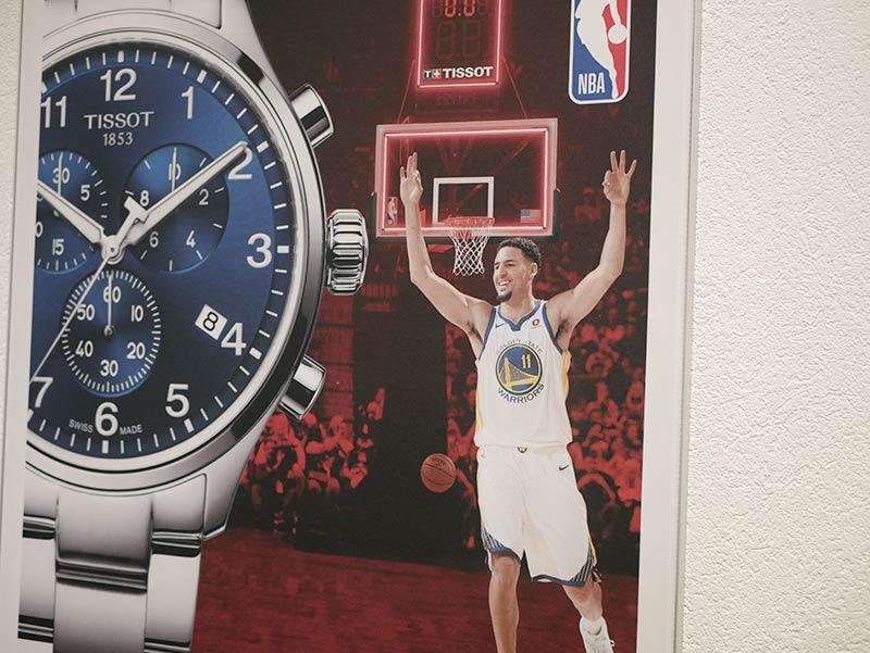 Tissot offizieller Timekeeper der NBA