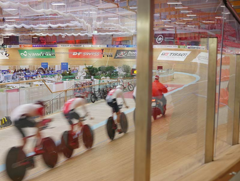 Velodrome Grenchen, Suisse Team