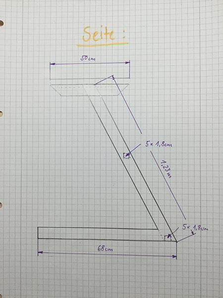 Anleitung für Zwift Tisch