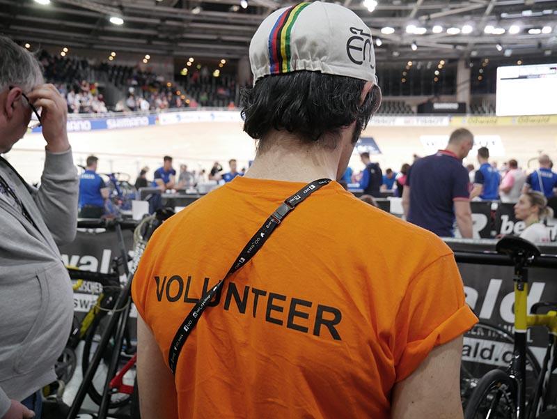 Volunteer bei der Bahnrad WM