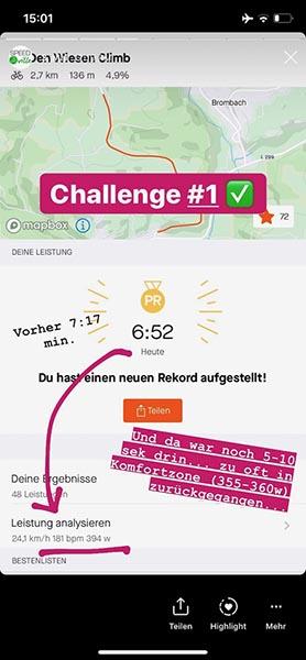 Meine Challenge #1