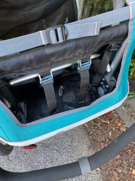 Großer Kofferraum (45 l)
