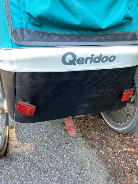 Feststellbremse beim Qeridoo Kidgoo 1