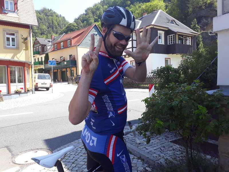 Viel Spaß am Radsport