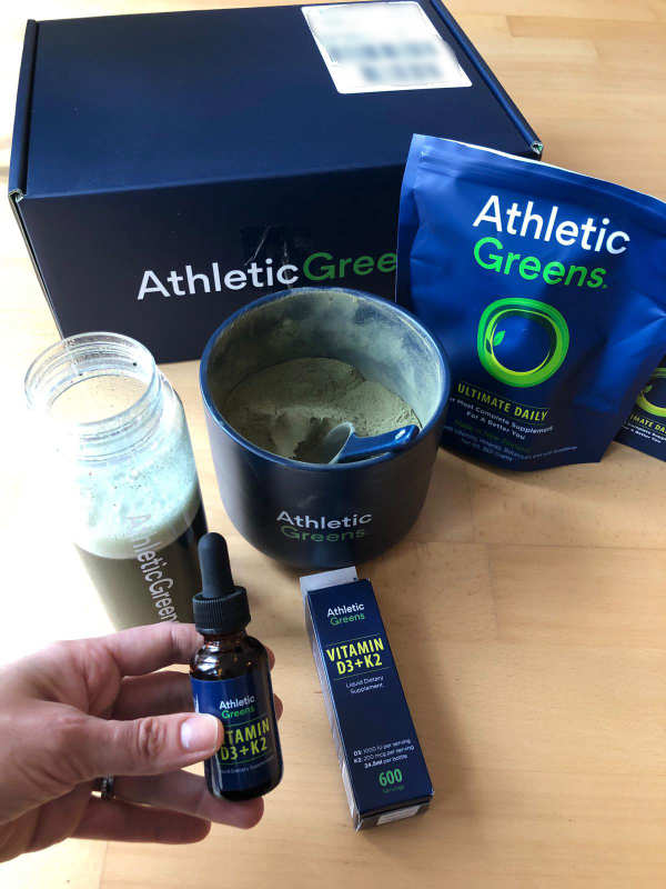 Athletic Greens Vitamin D3 + K2