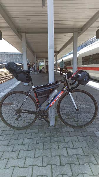 Alpencross mit dem Rennrad